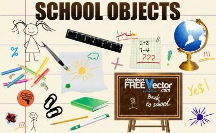 Vector School Objects