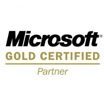 free vector Microsoft gold certified partner