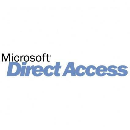 free vector Microsoft direct access