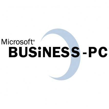 free vector Microsoft business pc
