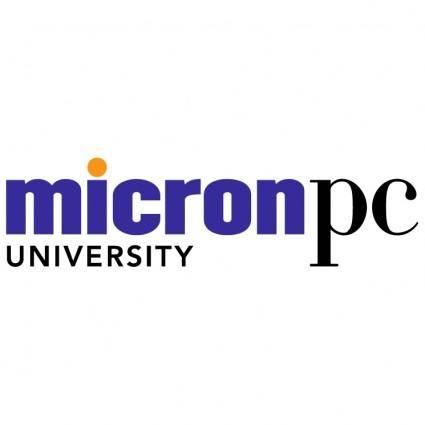 free vector Micronpc university