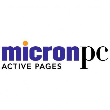 free vector Micronpc active pages