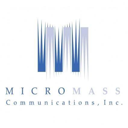 Micromass communications