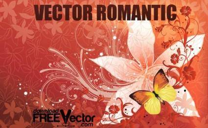 free vector Vector Romantic