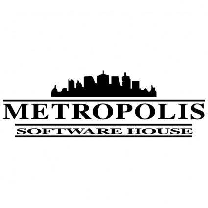 free vector Metropolis software house