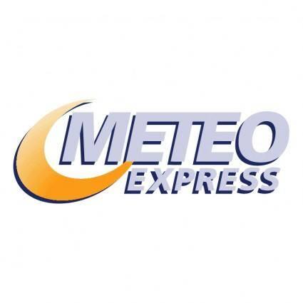 free vector Meteo express