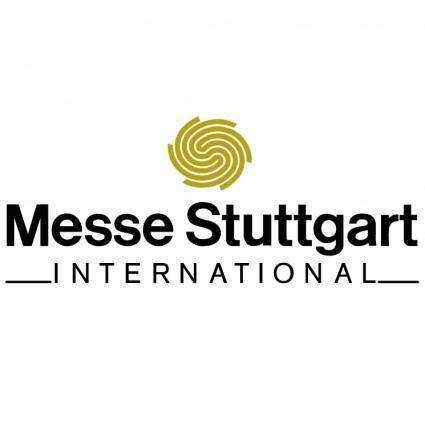 free vector Messe stuttgart
