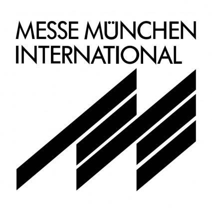 free vector Messe munchen international