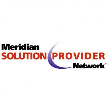 free vector Meridian solution provider