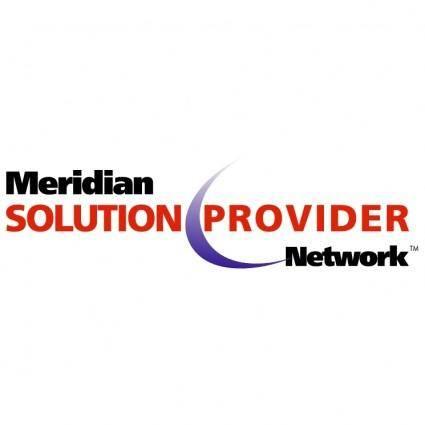 Meridian solution provider