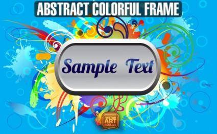 Abstact Colorful Frame