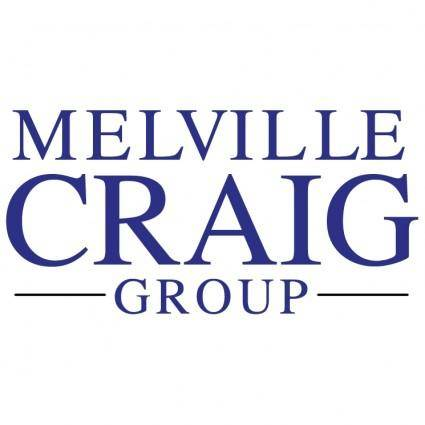 free vector Melville craig group