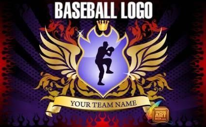 free vector Baseball Logo