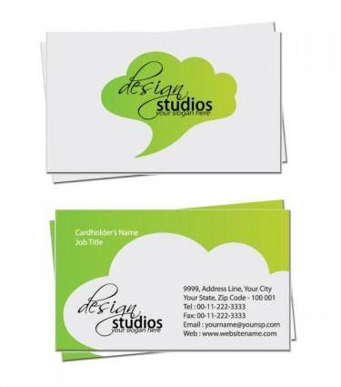 free vector Exquisite business cards 01 vector