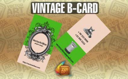 free vector Vintage Business Card