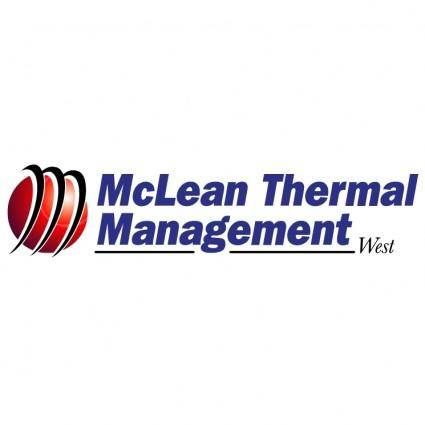 free vector Mclean thermal management