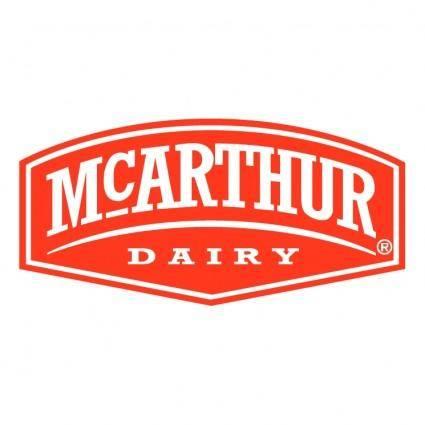 free vector Mcarthur dairy