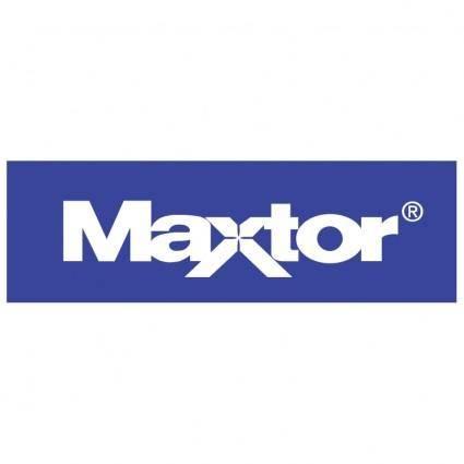 free vector Maxtor 0