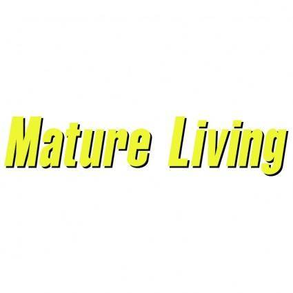 free vector Mature living