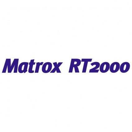 free vector Matrox rt2000