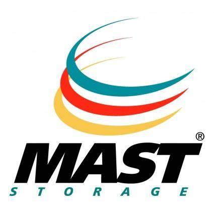 Mast storage