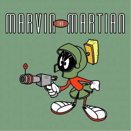 free vector Marvin the martian