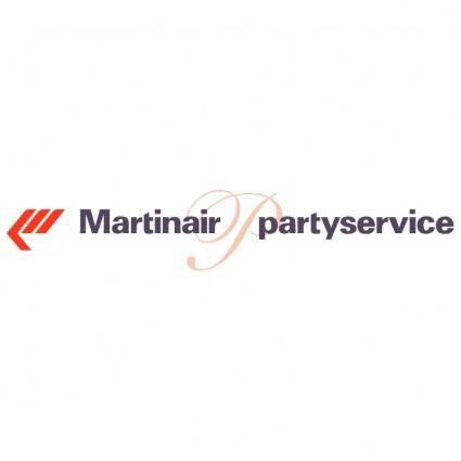 Martinair partyservice