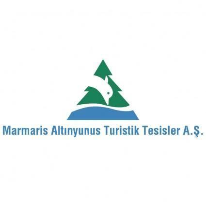 free vector Marmaris altinyunus turistik