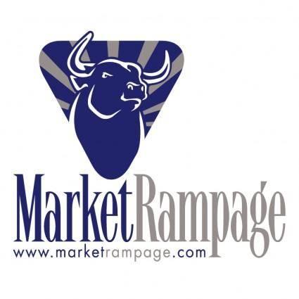 free vector Market rampage