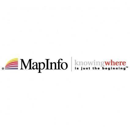 Mapinfo 0