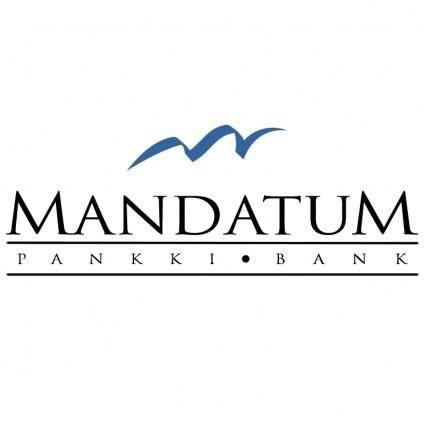 free vector Mandatum