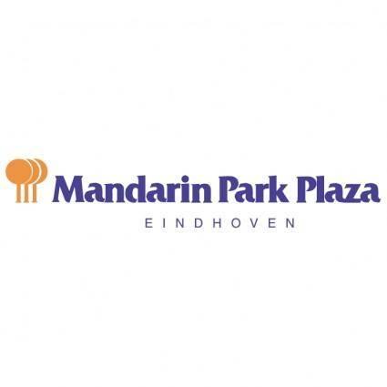 free vector Mandarin park plaza