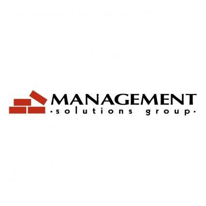 Management solutions group