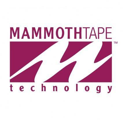 free vector Mammothtape technology