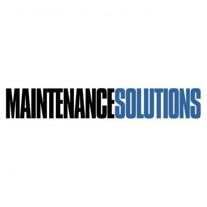 free vector Maintenance solutions