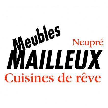 free vector Mailleux meubles