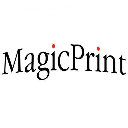 free vector Magicprint
