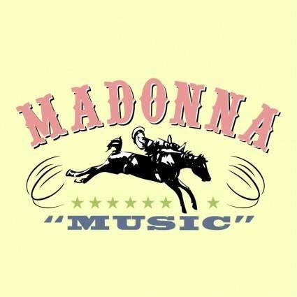 free vector Madonna