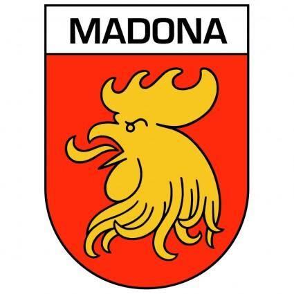 free vector Madona