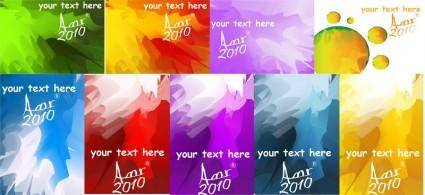 free vector Colorful sparks