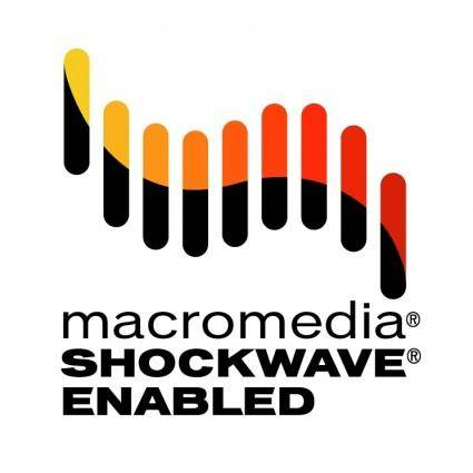 free vector Macromedia shockwave enabled 0