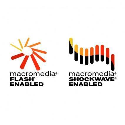 free vector Macromedia flash enabled 0