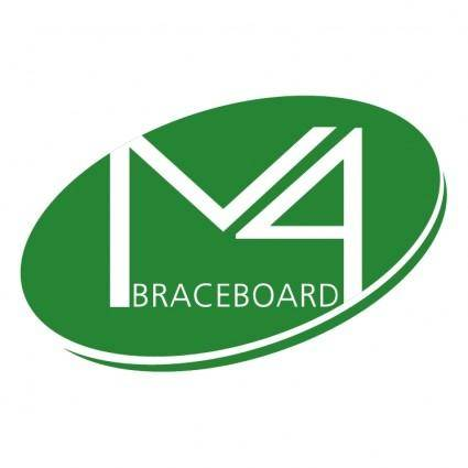 free vector M4 braceboard