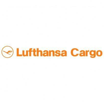 free vector Lufthansa cargo
