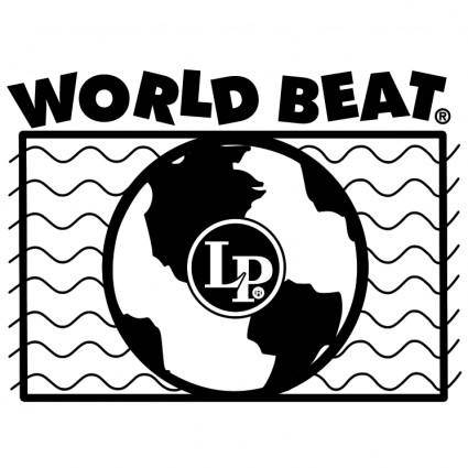 free vector Lp world beat