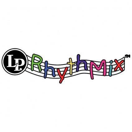 free vector Lp rhythmix