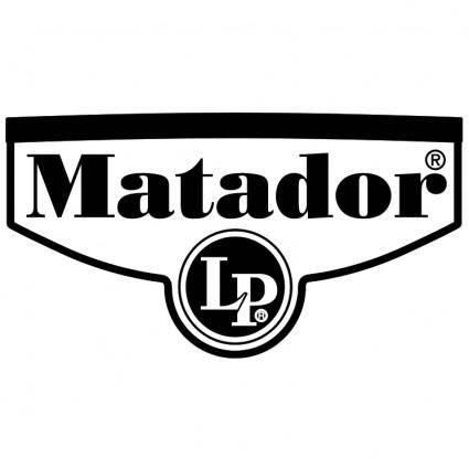 free vector Lp matador