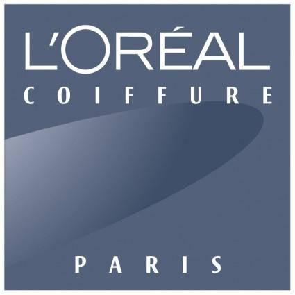 free vector Loreal coiffure