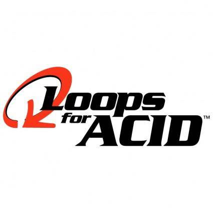 free vector Loops for acid