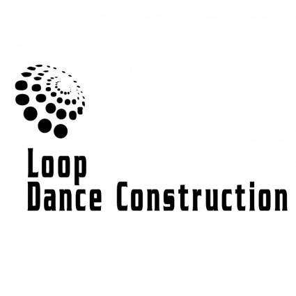 free vector Loop dance construction